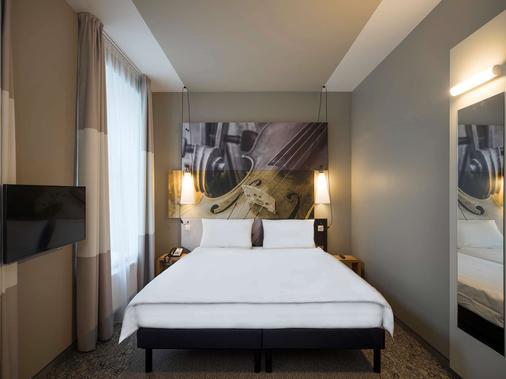 里加中心宜必思酒店 - 里加 - 睡房
