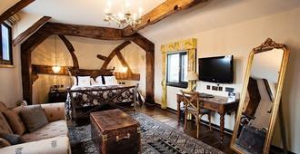 白天鹅酒店 - 斯特拉特福 - 睡房