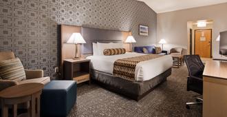 最佳西方加拉斯维加斯西大酒店 - 拉斯维加斯 - 睡房