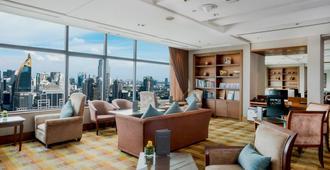 曼谷洲际酒店 - 曼谷 - 客厅