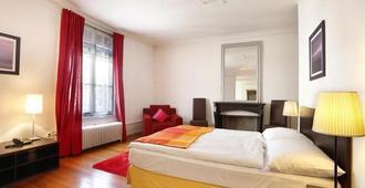 日内瓦托尔酒店 - 日内瓦 - 睡房