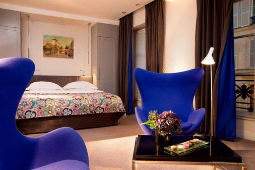 普拉帝酒店 - 巴黎 - 睡房