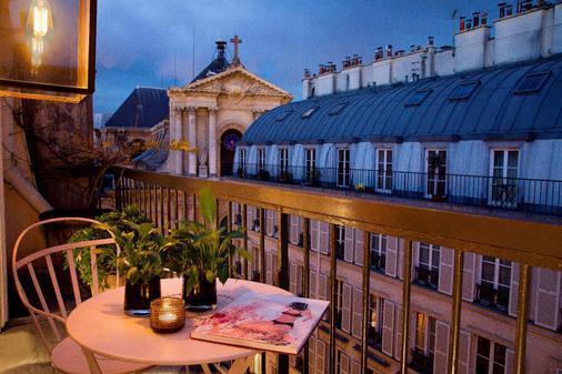 普拉帝酒店 - 巴黎 - 阳台