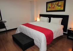 塞巴斯蒂安酒店 - 波哥大 - 睡房