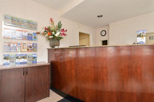 圣何塞美国最佳价值旅馆 - 圣何塞 - 柜台