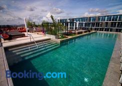 危地马拉城凯悦中心酒店 - 危地马拉 - 游泳池
