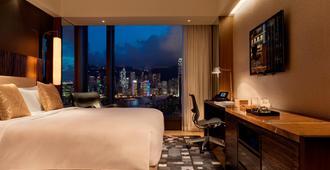 唯港荟酒店 - 香港 - 睡房