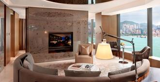 唯港荟酒店 - 香港 - 客厅