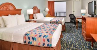 最佳西方假日沙滩旅馆和套房 - 诺福克 - 睡房