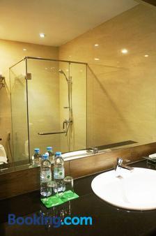 卡利比亚精品酒店 - 棉兰 - 浴室