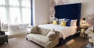 连字号酒店 - 伦敦 - 睡房
