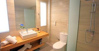 蓝湾海滩酒店 - Ialysos - 浴室