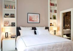 罗马第一豪华艺术酒店 - 罗马 - 睡房