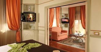 德格里阿蓝希酒店 - 罗马 - 睡房