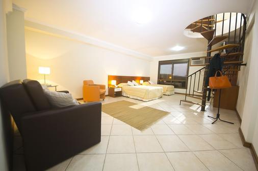 大都会公寓式酒店 - 阿雷格里港 - 睡房