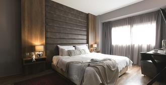 广场酒店、菲律宾酒店及度假村 - 塞萨洛尼基 - 睡房