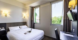 加斯科尼酒店 - 图卢兹 - 睡房