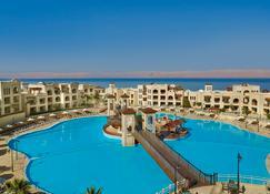 皇冠广场约旦死海水疗度假酒店 - 斯威梅 - 游泳池