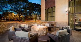 尼亚加拉瀑布万怡酒店,美国 - 尼亚加拉瀑布 - 露台