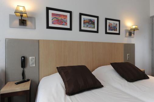 卡敏赛托酒店 - 勒阿弗尔 - 睡房