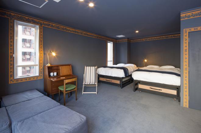转桌旅舍 - 东京 - 睡房