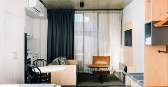 尾流百老汇公寓酒店 - 悉尼 - 客厅
