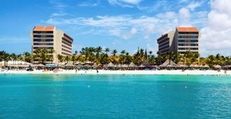 巴塞罗阿鲁巴度假酒店-式 - 棕榈滩 - 建筑