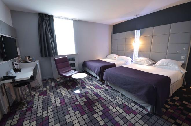 凯里亚德尊贵酒店-第戎中心 - 第戎 - 睡房