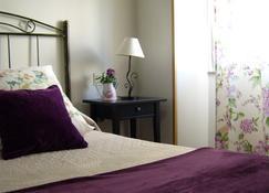 坦布雷住宅旅馆 - 圣地亚哥-德孔波斯特拉 - 睡房