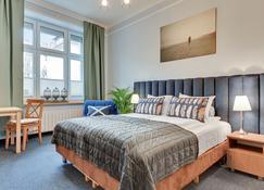 索波基克里玛缇狮子公寓酒店 - 索波特 - 睡房