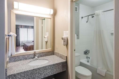 罗阿诺克机场优质酒店 - 罗阿诺 - 浴室