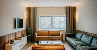 阿姆斯特丹id公寓酒店 - 阿姆斯特丹 - 客厅