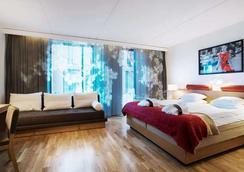 第一酒店G - 哥德堡 - 睡房