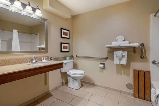 斯普林菲尔德I-44康福特茵酒店 - 斯普林菲尔德 - 浴室