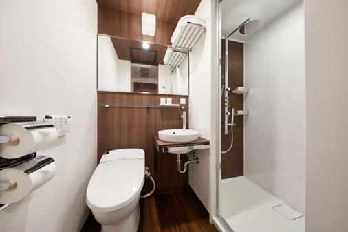 the b东京新桥酒店 - 东京 - 浴室