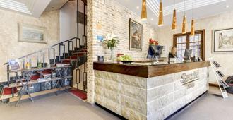 赛尔科特尔阿方索六世酒店 - 托莱多 - 柜台