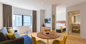 鹿特丹尊贵套房公寓 - 鹿特丹 - 客厅