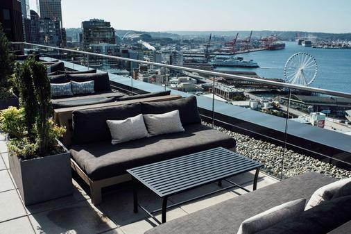 西雅图汤普森酒店 - 西雅图 - 阳台