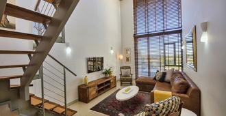 夸德兰特公寓酒店 - 开普敦 - 客厅