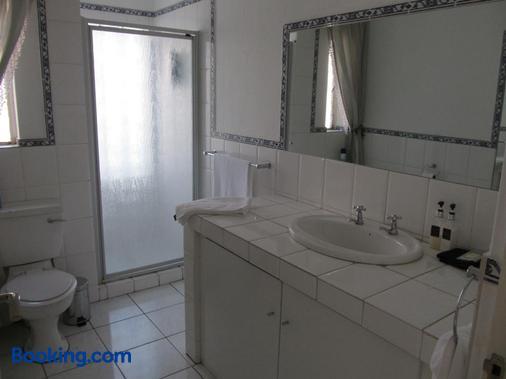 乐皮提特费蓝酒店 - 约翰内斯堡 - 浴室