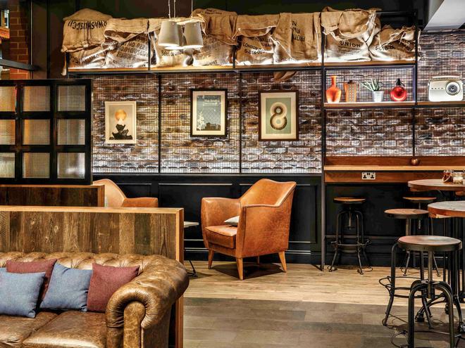 宜必思曼彻斯特中心波特兰街酒店 - 曼彻斯特 - 酒吧