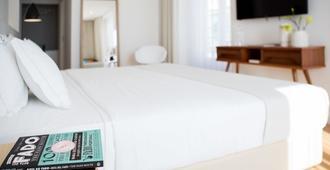 8号市中心套房酒店 - 里斯本 - 睡房