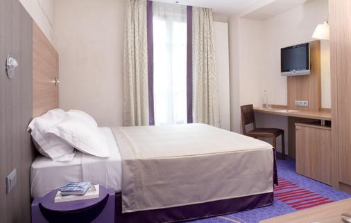 希维内酒店 - 巴黎 - 睡房