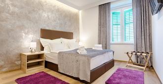 诺诺班中央珍珠酒店 - 斯普利特 - 睡房
