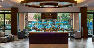 棕榈泉万丽酒店 - 棕榈泉 - 大厅