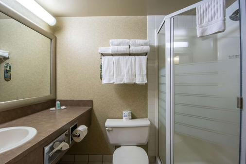 凯富套房酒店-机场南 - 卡尔加里 - 浴室