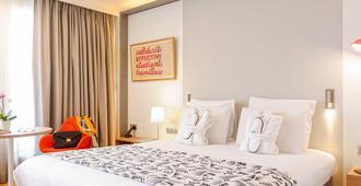 马赛美居中心普拉多赛车场酒店 - 马赛 - 睡房