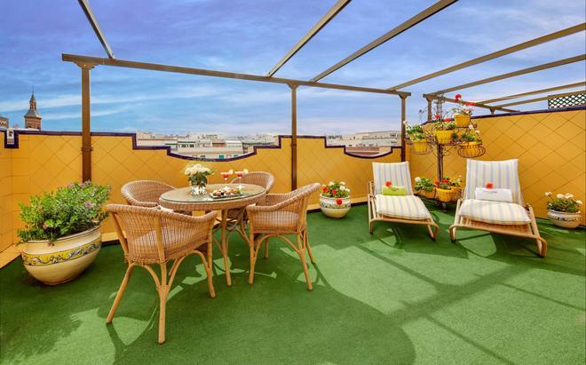 康德杜克斯考特而酒店 - 马德里 - 阳台