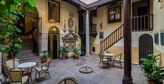 皮内达马里亚纳宫酒店 - 格拉纳达 - 露台