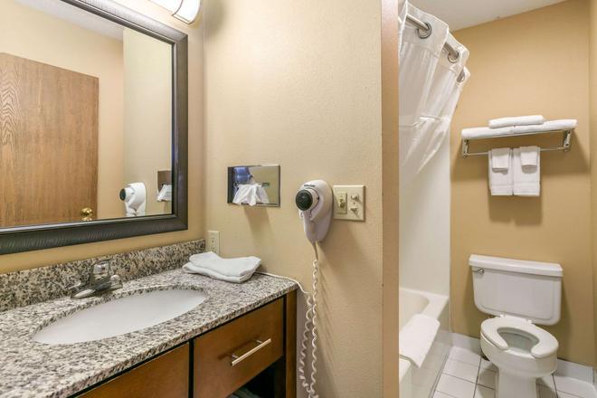 急流市罗德威酒店 - 拉皮德城 - 浴室